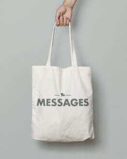 Canvas Tote Bag Messages